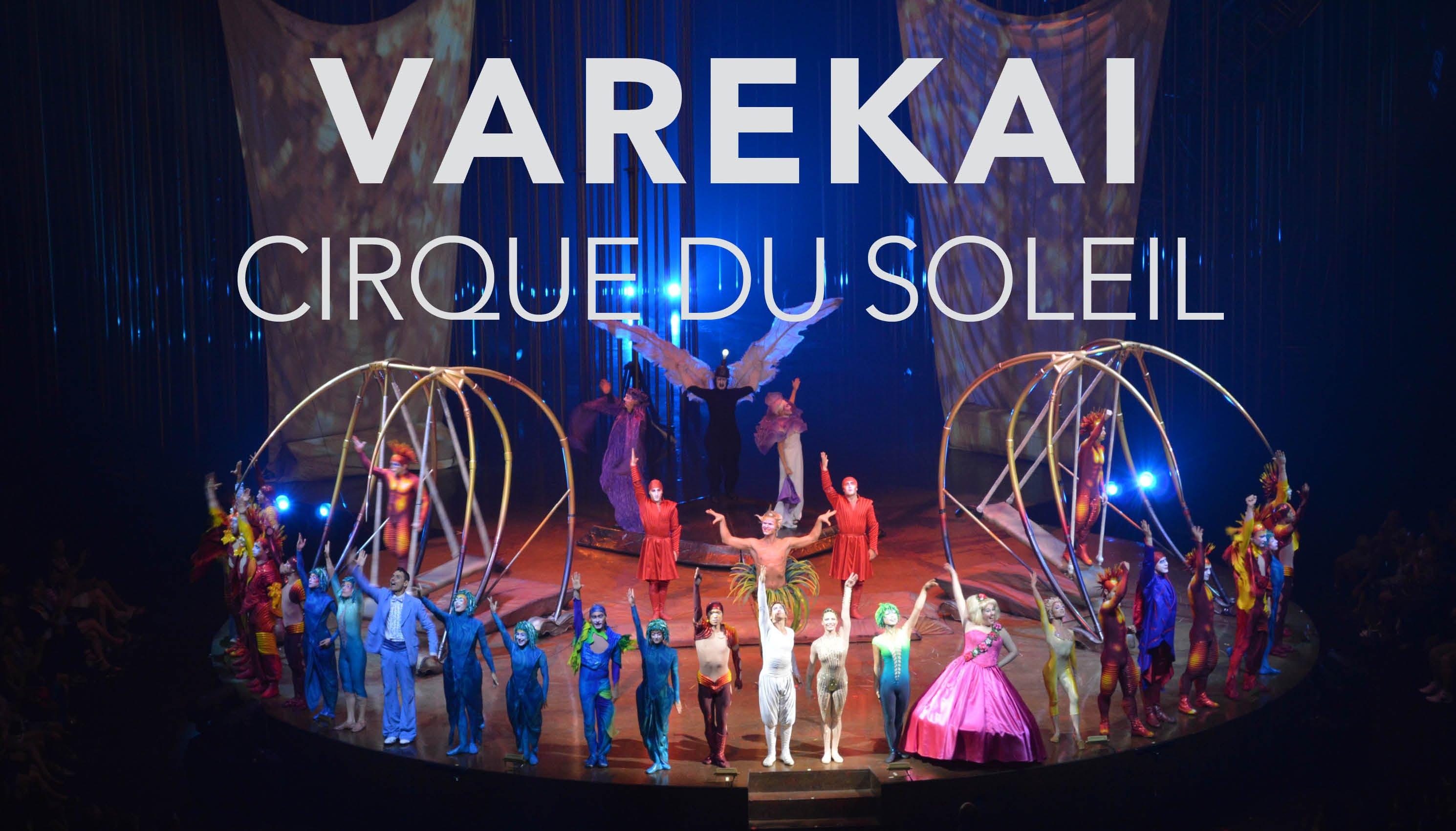 Trabajando en el nuevo espect culo de el circo del sol for Espectaculo circo de soleil